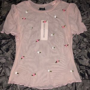 Urban Outfitters Pink/Rose Shirt